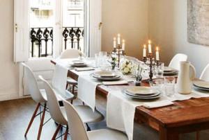 tovagliette da tavola  in stile elegante