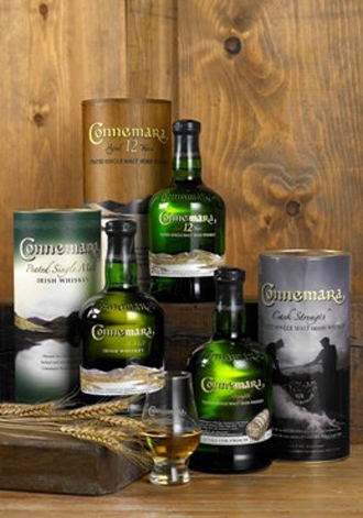 Nuovo packaging  per  il Whiskey Connemara