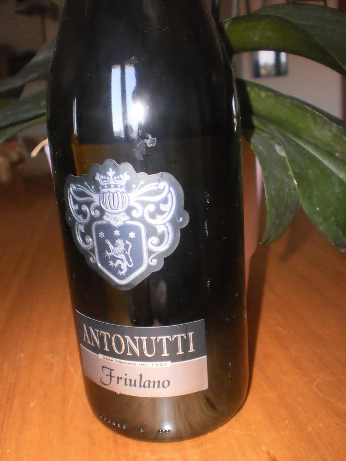 Buono questo Friulano di Antonutti 2011