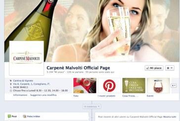 Tasting Carpenè Malvolti a Vinitaly lo prenoti su Facebook