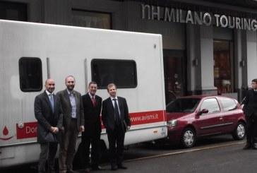 NH Hoteles e Avis insieme a Roma per promuovere la donazione del sangue