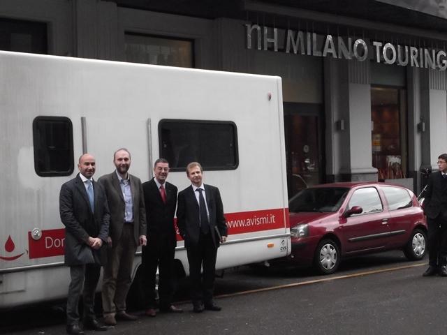 Photo of NH Hoteles e Avis insieme a Roma per promuovere la donazione del sangue