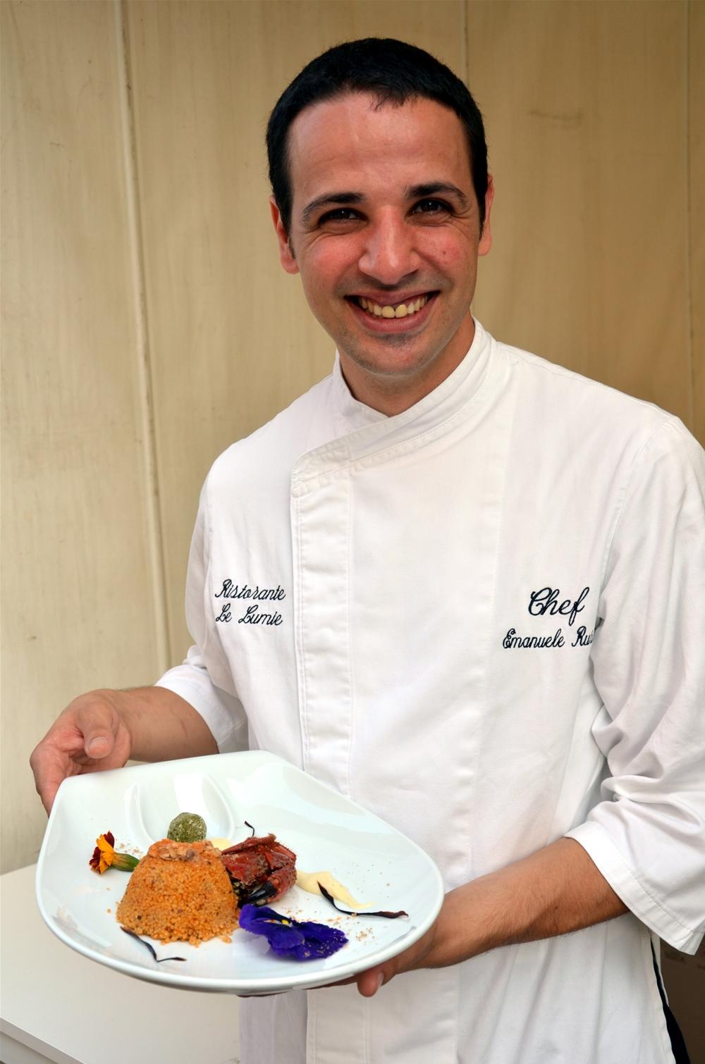 Lo chef Emanuele Russo vince il Cous Cous Fest Preview