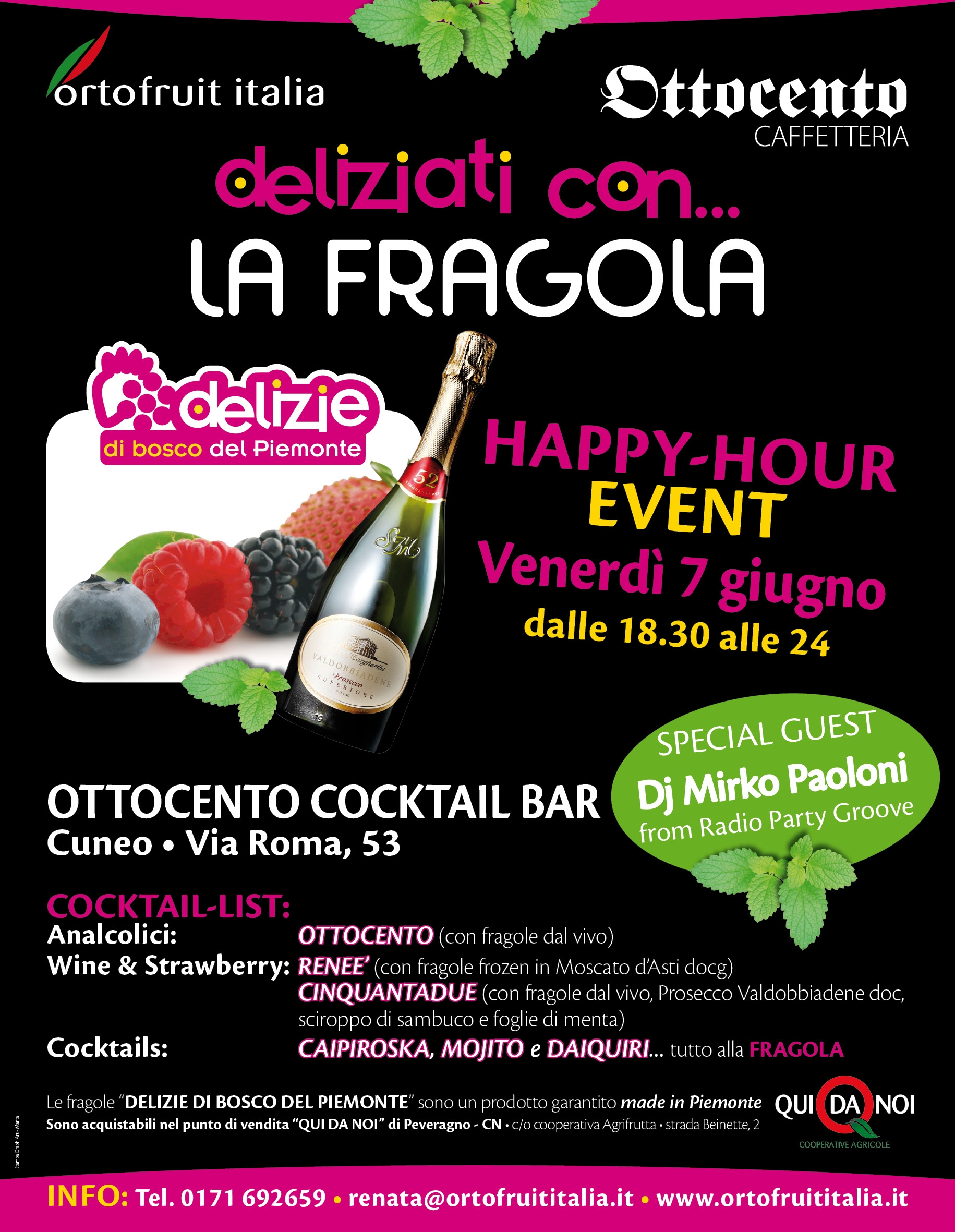 "Photo of ""DELIZIATI CON…"" – L'ortofrutta piemontese diventa happy-hour"