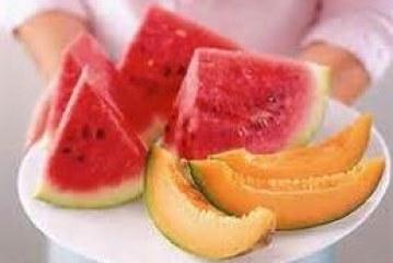 Anguria e cocomero o melone e popone a tavola?