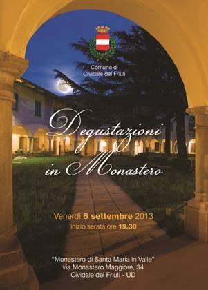 Degustazioni in Monastero