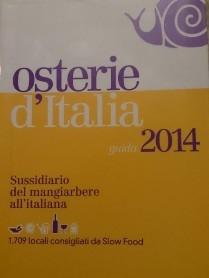Osterie d'Italia 2014, il sussidiario del mangiarbere all'italiana