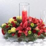 L'atmosfera del Natale anche a tavola