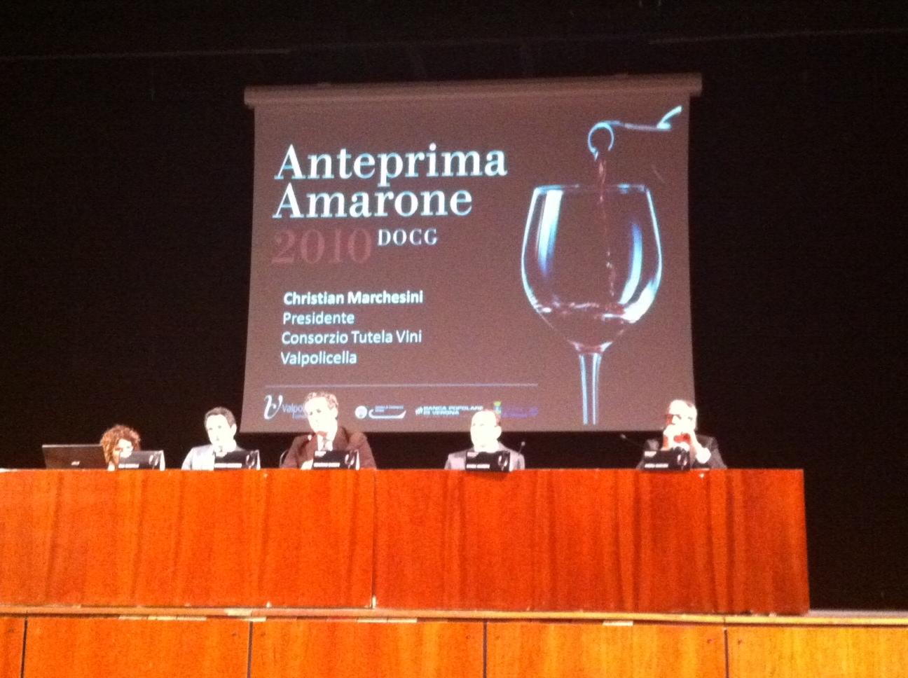 Photo of Tante novità all'Anteprima Amarone 2010