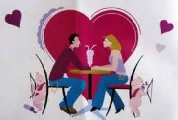 A San Valentino cenetta romantica