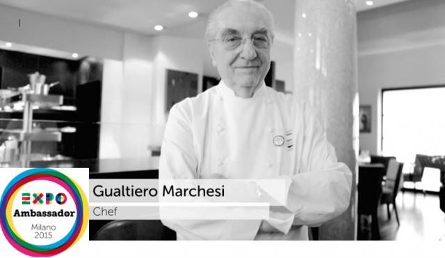 Photo of Gualtiero Marchesi: Expo Ambassador
