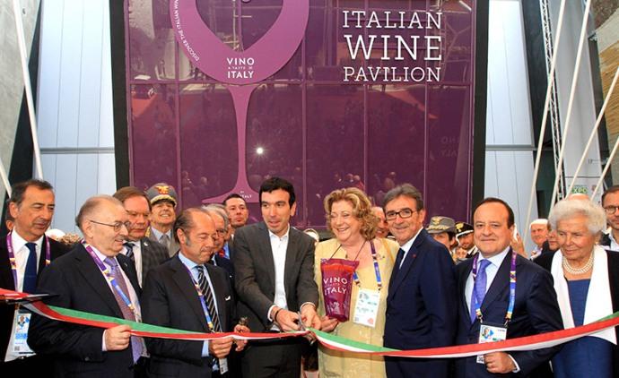 Photo of Tagliato il nastro all'Expo Vino Taste of Italy