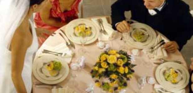 Matrimonio e pranzo di nozze