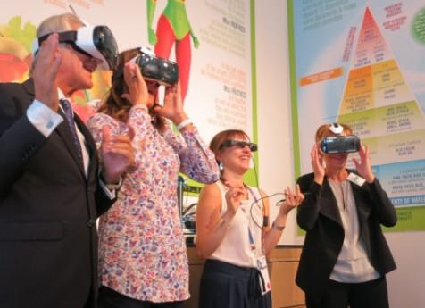 Salvi porta ad Expo 2015 la frutta con gli occhiali