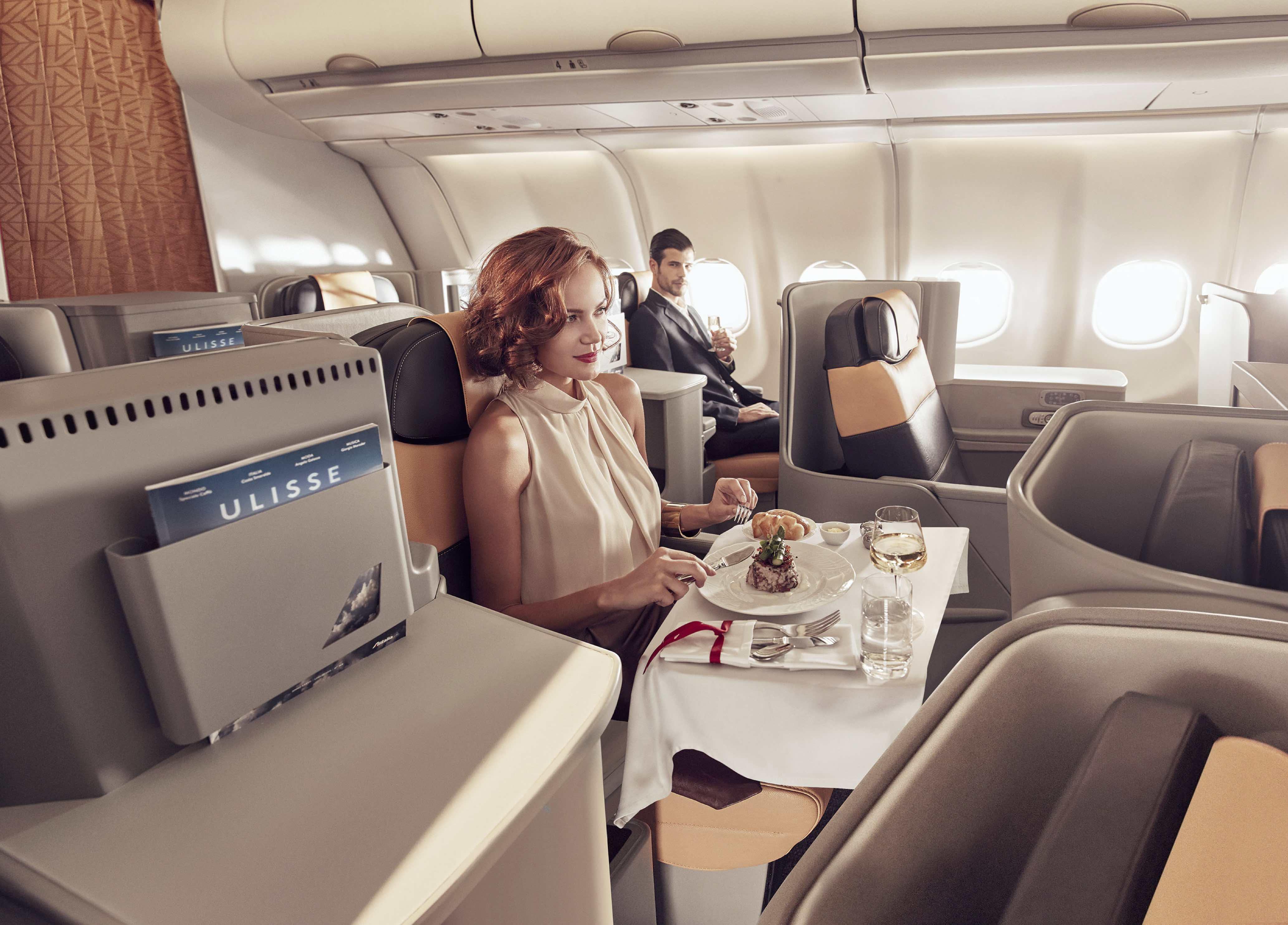"""Photo of Alitalia vince il premio """"Best Airline Cuisine"""""""