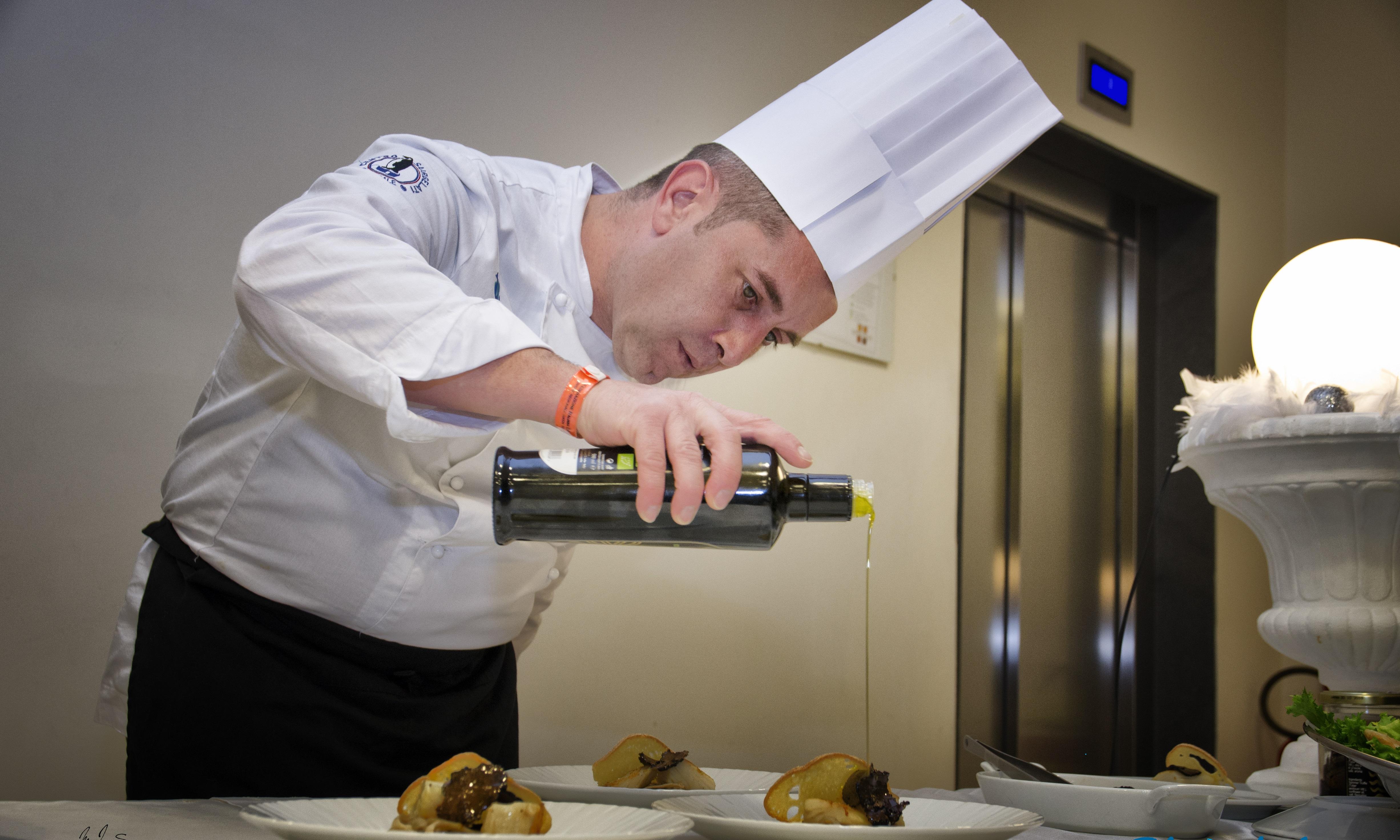 Lo chef Alfio Visalli a Casa Sanremo