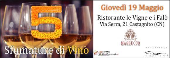 "Photo of 5 sfumature di vino ""bianco"""