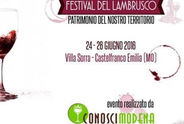Nasce il Festival del Lambrusco