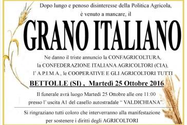 Grano duro italiano: il funerale