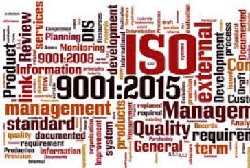 Certificazione ISO 2015 alla Cantina Valpantena Verona