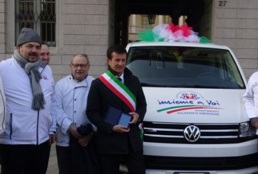 Bergamo dona un pullmino alla FIC per Amatrice