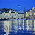 Trieste si veste di olio