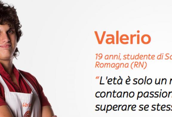 Valerio Braschi una nuova star in cucina