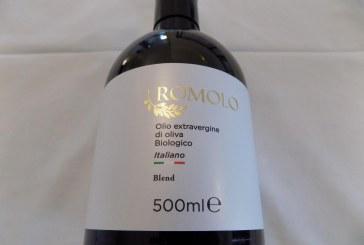 Romolo olio bio per il Premio Mediterraneo Packaging