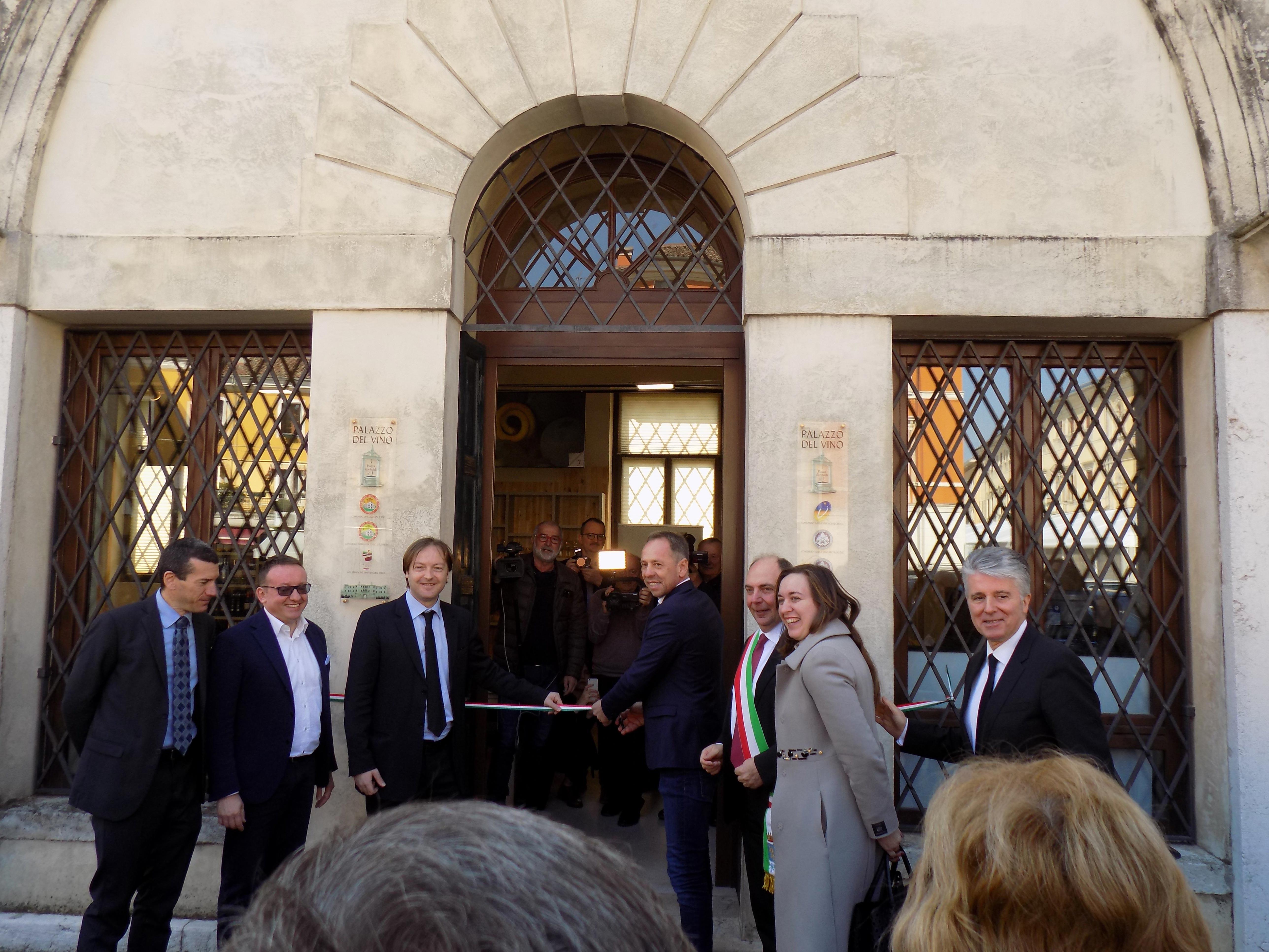 Photo of Inaugurata l'enoteca comunale di Lonigo grimaldello per il turismo enogastronomico