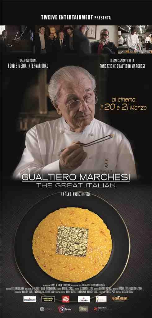 Gualtiero Marchesi anteprima milanese del film
