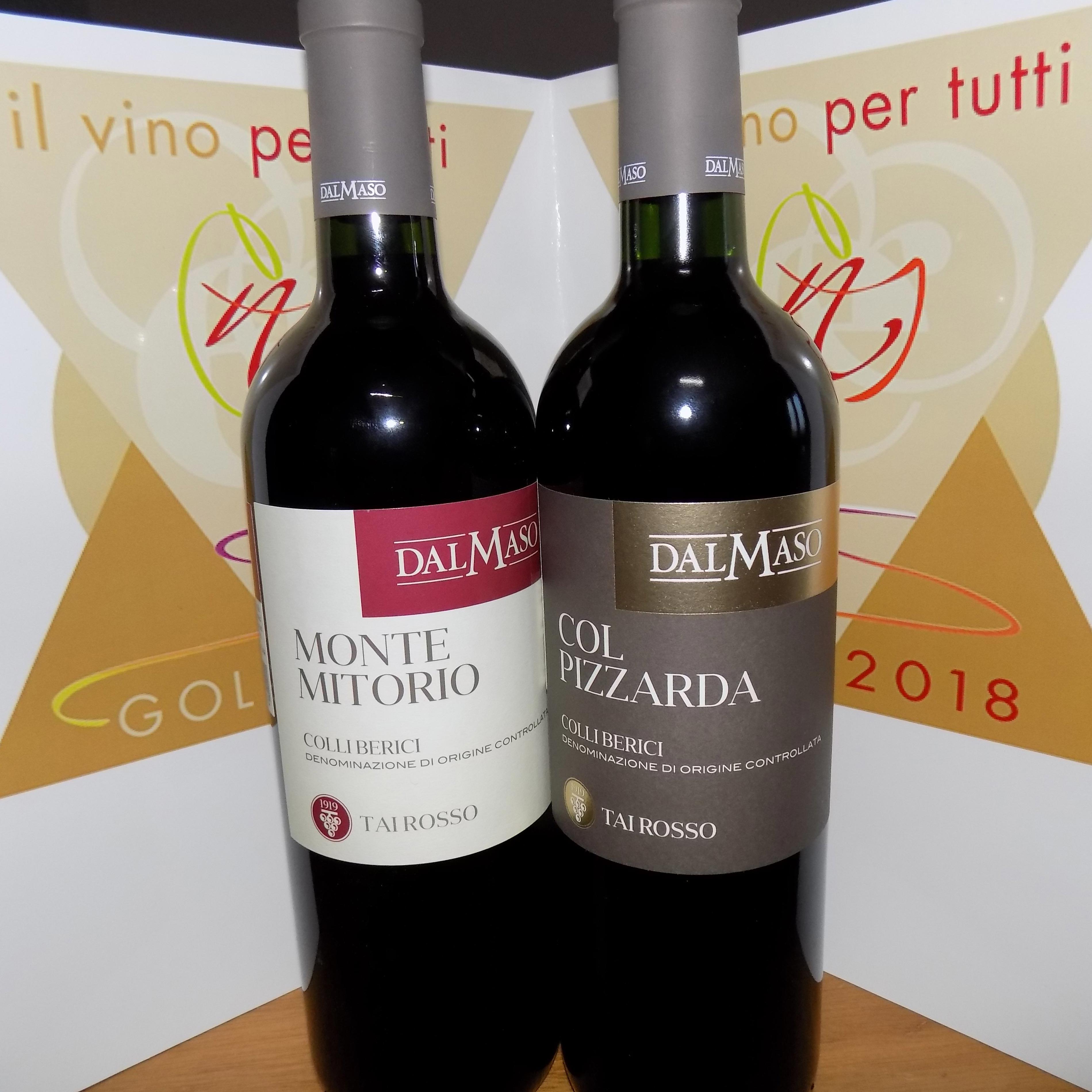 Photo of Doppio  Oro al Tai Rosso di Dal Maso dalla giuda Il vino per tutti