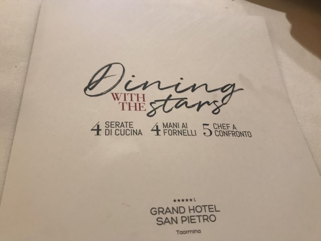 Dining with the  Stars, a cena con Angelo Franzò e Tony Lo Coco