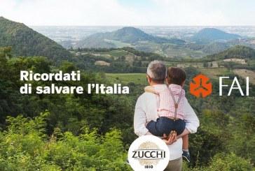 Al progetto del FAI per salvare il patrimonio d'Italia aderisce anche l'Oleificio Zucchi