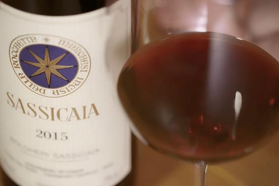 Decolla il valore del Sassicaia 2015 dopo il primato nella classifica di WS