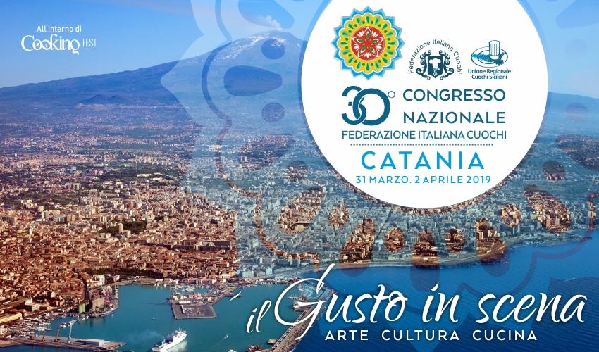 Il Gusto in scena a Catania con la FIC