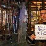Ordigno alla pizzeria Sorbillo, sostegno della FIPE