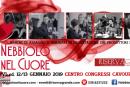 Nebbiolo nel Cuore, torna a Roma il 12-13 gennaio con la sua VI Edizione