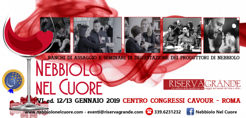 Photo of Nebbiolo nel Cuore, torna a Roma il 12-13 gennaio con la sua VI Edizione