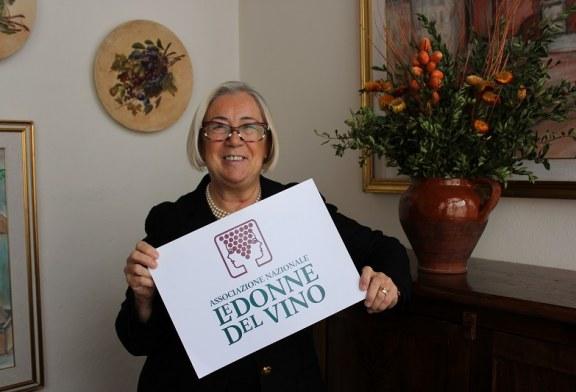 Donatella Cinelli Colombini guiderà per altri tre anni l'Associazione Nazionale Le Donne del Vino.