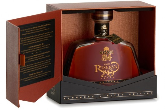 Stock Italia celebra la leggenda con il prestigioso Brandy Stock 84 Gran Riserva 20Y