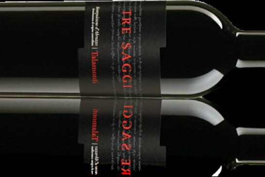Tre Saggi della Cantina Talamonti, l'Abruzzo in bottiglia