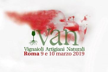 VAN Vignaioli Artigiani Naturali 2019 a Roma 9 – 10 marzo