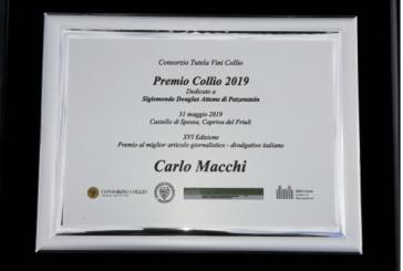 Complimenti a Carlo Macchi vince il Premio Collio
