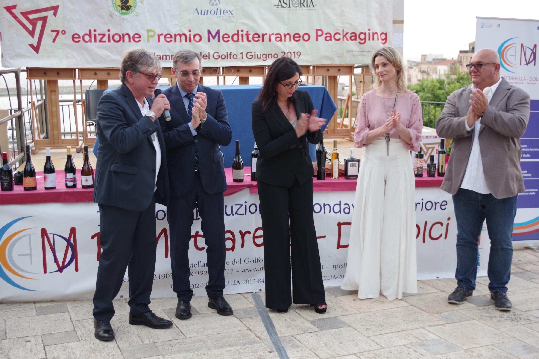 I super vincitori della 7° edizione Premio Mediterraneo Packaging