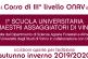ONAV, il Corso di Terzo Livello per assaggiatori di vino è universitario