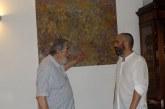 All'Abbazia di Pomposa a pranzo con l'artista Granini gioia per gli occhi e per il palato