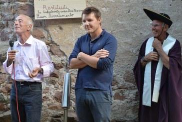 Gli amici di Dom Perignonin conclave a Palu' di Giovo, paese natale del campionissimo Francesco Moser