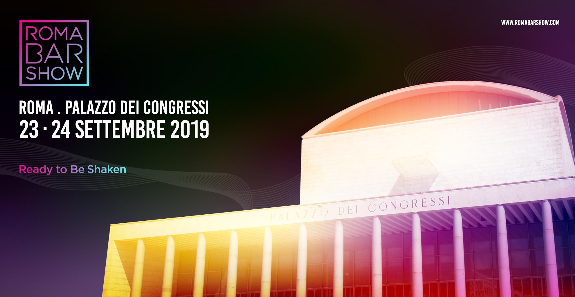 ROMA BAR SHOW prima edizione al Palazzo dei Congressi all'EUR