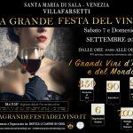 La Grande Festa del Vino 12° Edizione  7 – 8 Settembre 2019