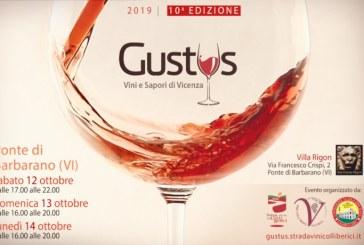 Gustus, la vetrina dei Colli Berici